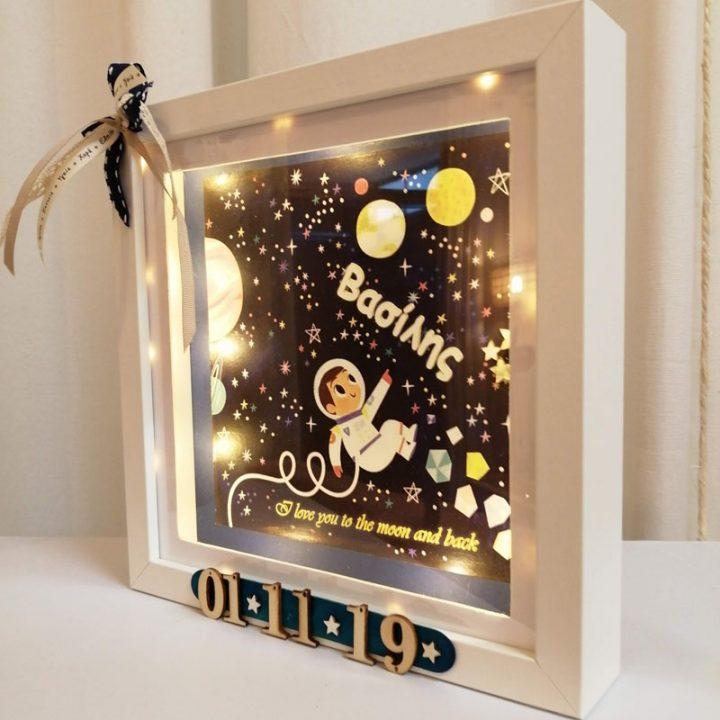 Φωτιστικό παιδικό με θέμα Αστροναύτη